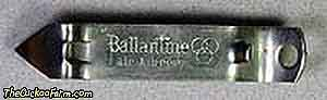 Ballantine Ale & Beer can and bottle opener
