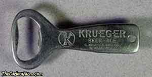 Krueger Beer - Ale bottle opener