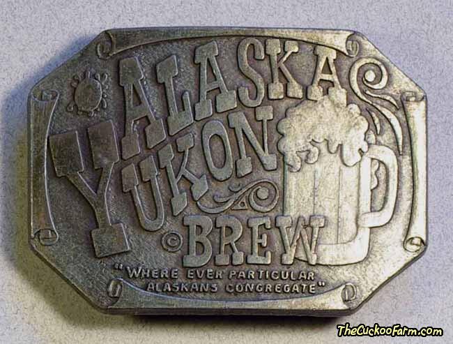 Alaska Belt Buckle