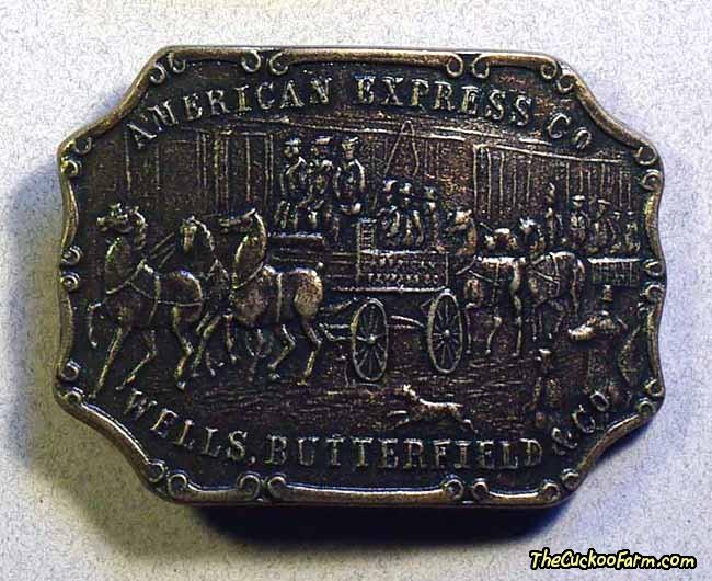 American Express Belt Buckle