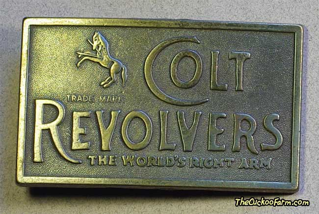 Colt Revolvers Belt Buckle