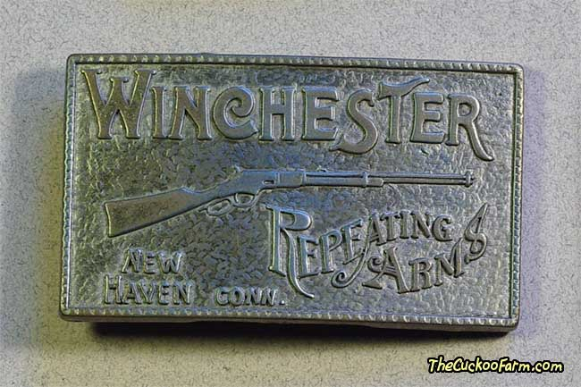 Winchester Reapeating Arms Belt Buckle