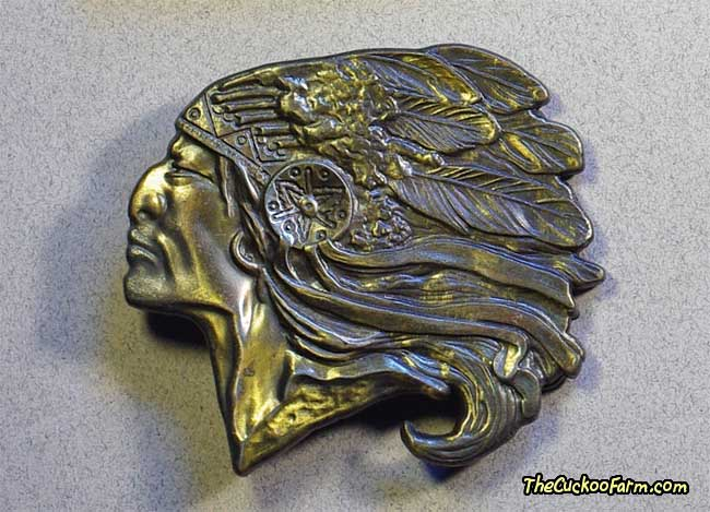 Indian Head Belt Buckle
