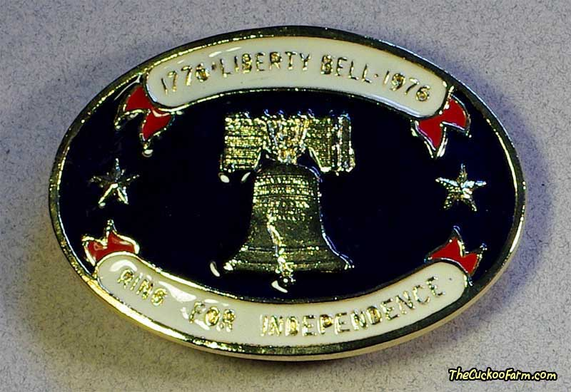 Liberty Bell Belt Buckle