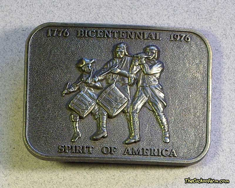 Spirit Of America Belt Buckle