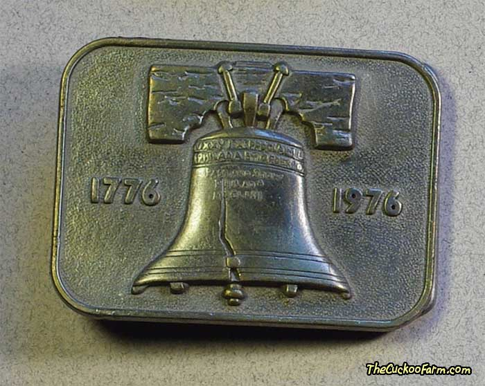 Liberty Bell Bicentennial Belt Buckle