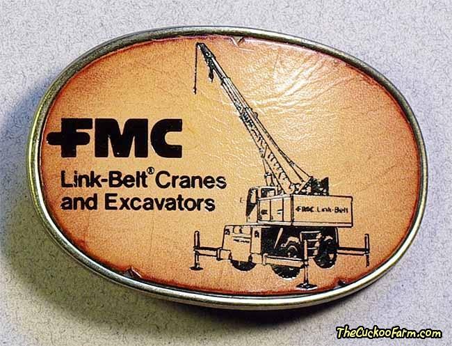 FMC Link-Belt Belt Buckle