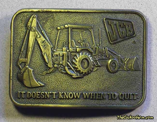 JCB Belt Buckle