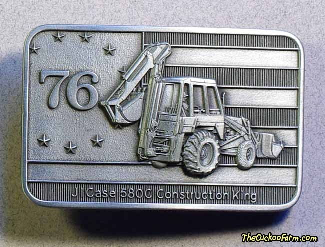 Case Belt Buckle 580C