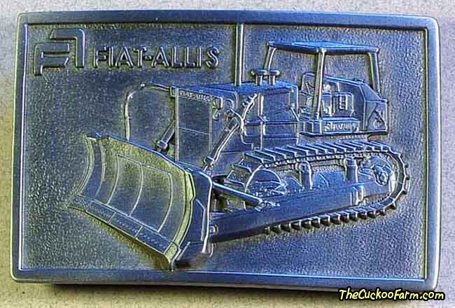 Fiat-Allis Belt Buckle
