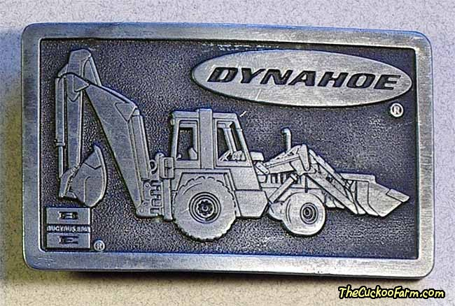 Bucyrus-Erie Dynahoe Belt Buckle