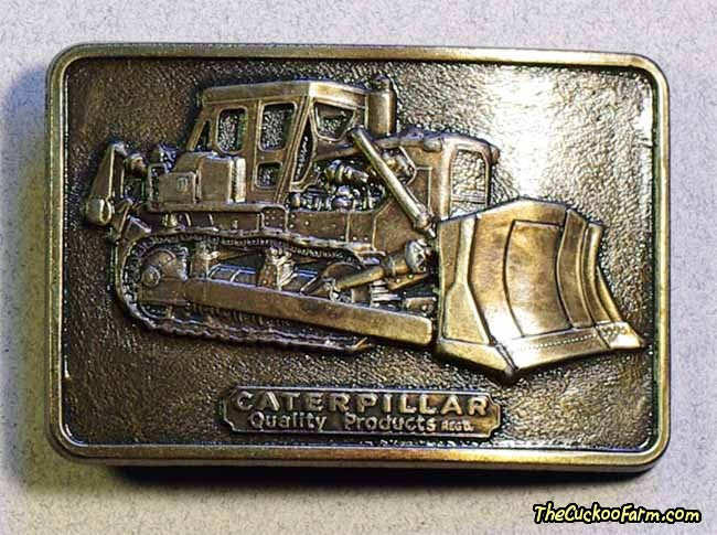 Caterpillar Belt Buckle