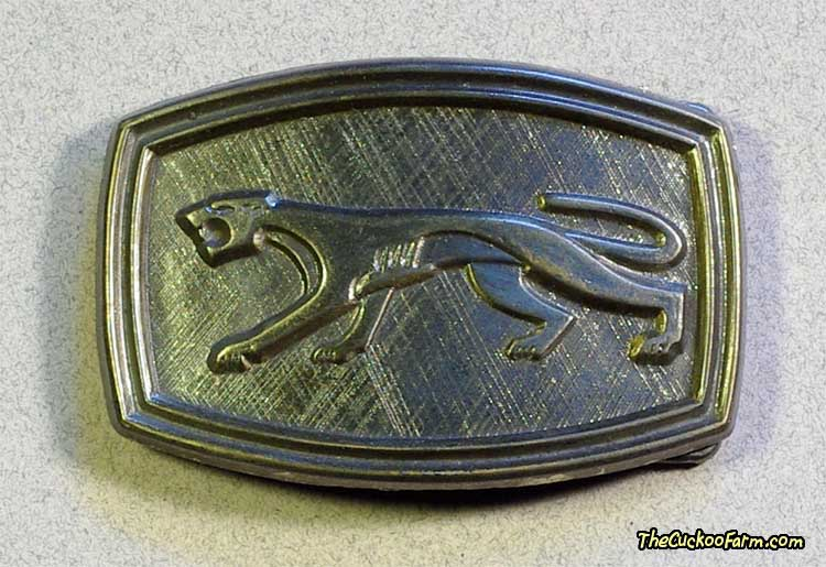 Jaguar Belt Buckle