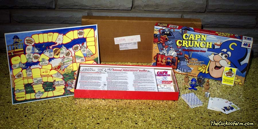 Cap'n Crunch Island Adventure Game