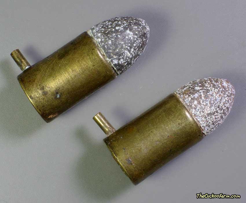 German Double Barrel Pinfire Pistol 9mm ammo