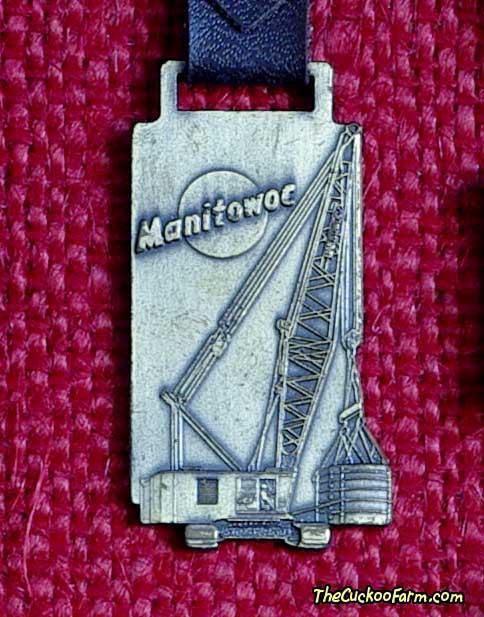 Manitowoc crane watch fob