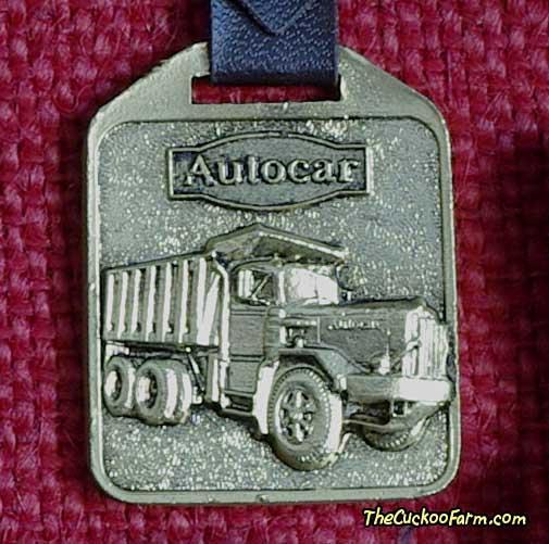 Autocar watch fob