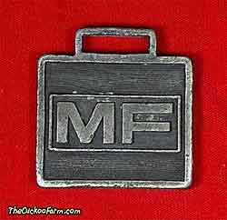 Massey-Ferguson logo watch fob