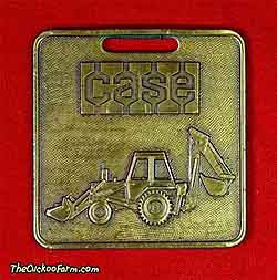 Case TLB tractor-Loader-Backhoe - Case Power & Equipment watch fob