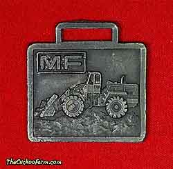 Massey-Ferguson wheeled front end loader watch fob