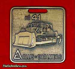 Allis-Chalmers HD41 tracked dozer watch fob