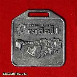 Warner-Swassey Gradall watch fob