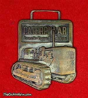 Caterpillar Track Type Tractor - Smith Tractor & Equipment Co. watch fob