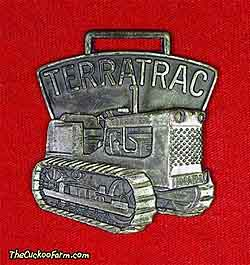 Case Terratrac tractor - Dale & Rankin Inc. watch fob