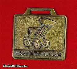 Caterpillar wheeled front end loader watch fob