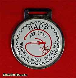 Rapp Welding and Diesel Services, Inc. watch fob