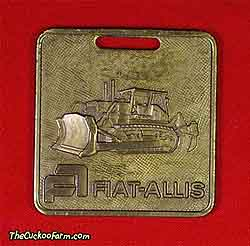 Fiat-Allis tracked dozer watch fob