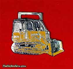 Case 850B dozer watch fob