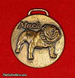 Mack truck logo watch fob