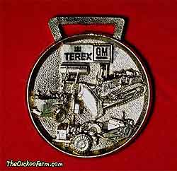 Terex-GM, Hubbard & Floyd Equipment Corp. watch fob