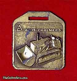 Alli-Chalmers 12G BMG watch fob