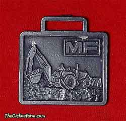 Massey-Ferguson backhoe watch fob