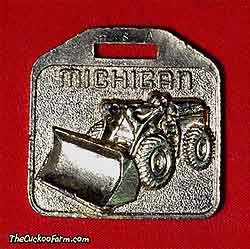 Michigan wheeled front end loader - Ken Smith Machinery Co. watch fob