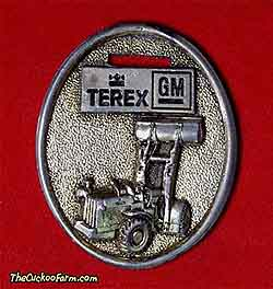 Terex L.B. Smith Metropolitan Inc. watch fob