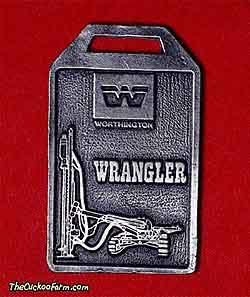 Worthington Wrangler pnuematic drill watch fob