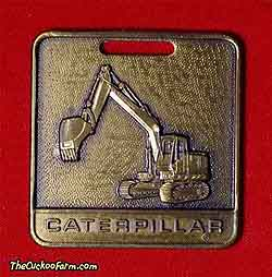 Caterpillar tracked excavator- Foley Machinery watch fob