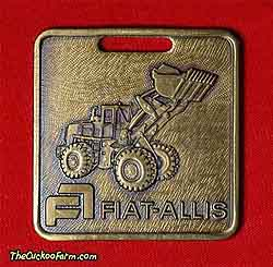 Fiat-Allis wheeled loader - Roberts Equipment Co. watch fob