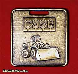 Case wheeled loader - Case Power & Equipment watch fob