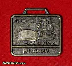 Fiat Allis FD30 crawler dozer watch fob