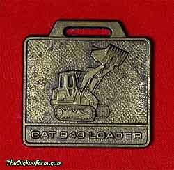 Caterpillar 943 tracked loader watch fob