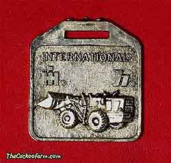 International Harvester wheeled loader watch fob