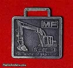 Massey-Ferguson tracked excavator watch fob