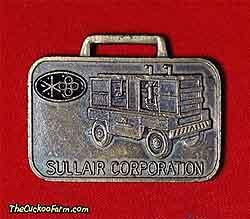 Sullair screw compressor watch fob