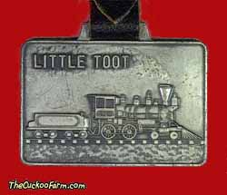 Little Toot - Crown Metal Products watch fob