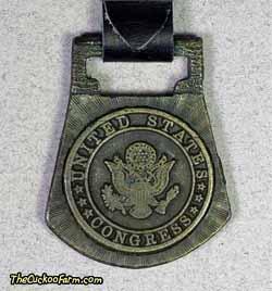 Congress logo watch fob
