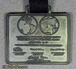 Moon Landing commemorative watch fob